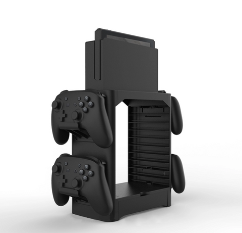 nintendo switch tower stand multi-functional hooks