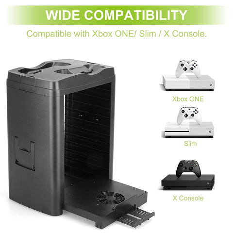 new xbox charging stand with cooling fan