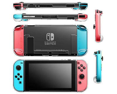 Nintendo Switch Transparent Case GamerPro Clear