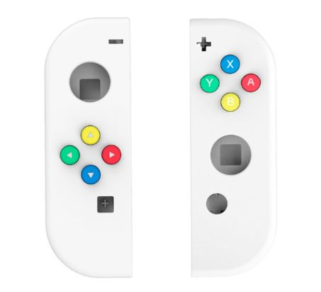 Joy-Con Custom Shells GamerPro White