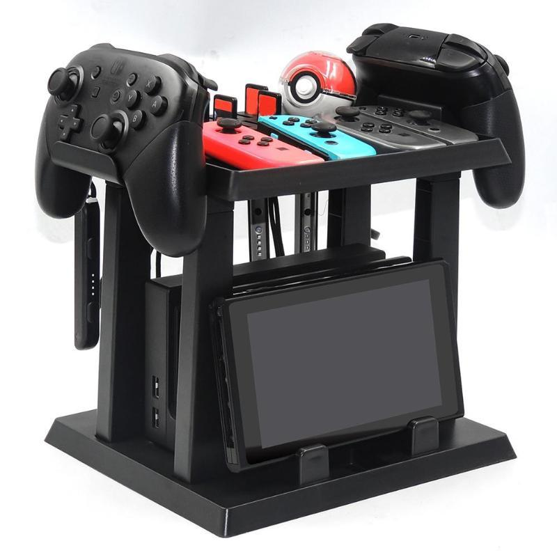 Nintendo Switch Tower Stand Game Holder