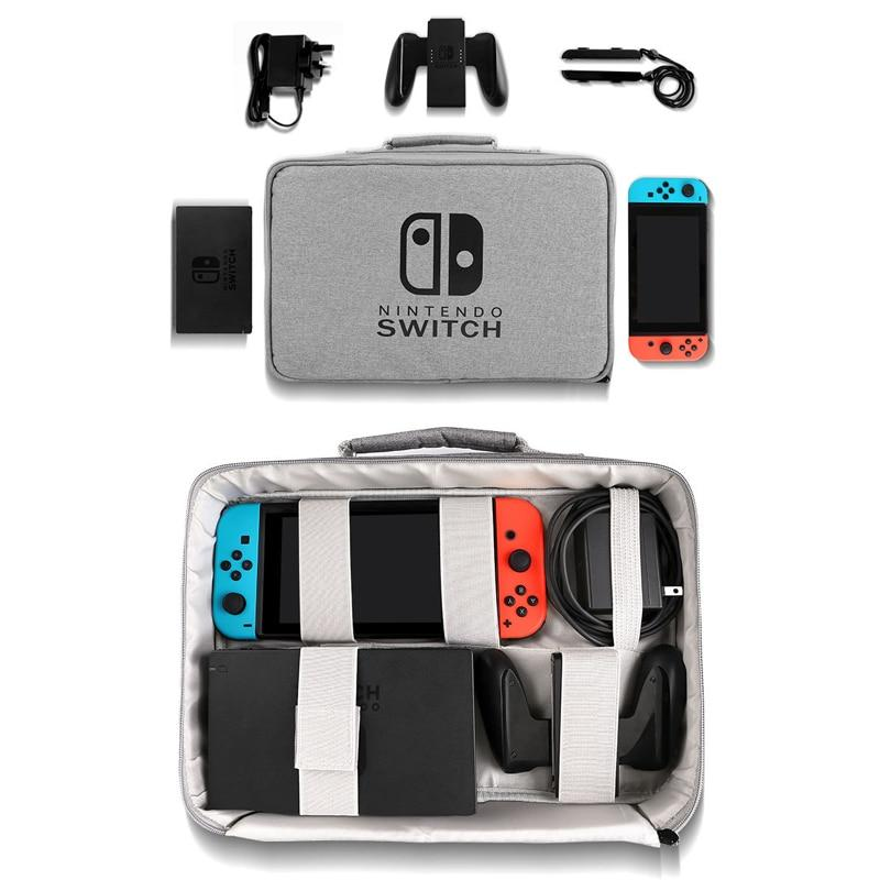 Nintendo Switch Gray Travel Bag GamerPro