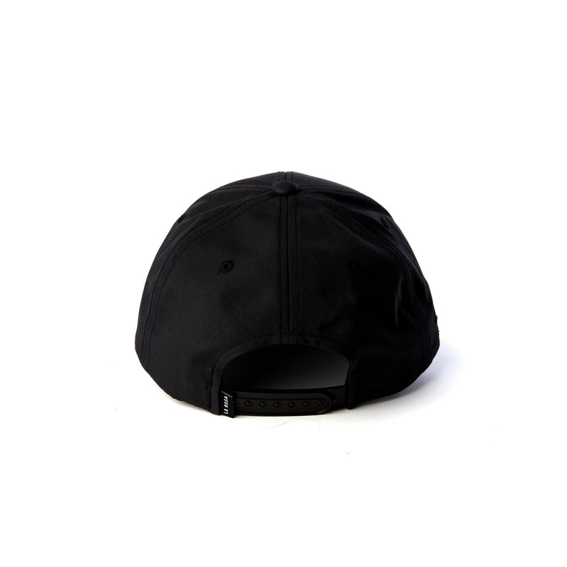 ALL BLACK ROSE CAP - LA ROSA COPENHAGEN