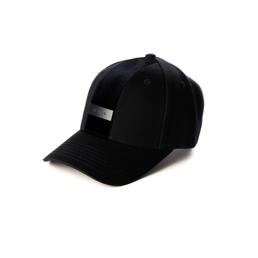 ENZO BALDINI ALL BLACK BASEBALL CAP
