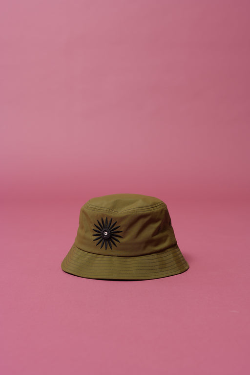 Army Daisy Bucket Hat