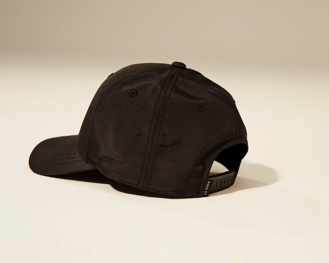Rose Cap Black