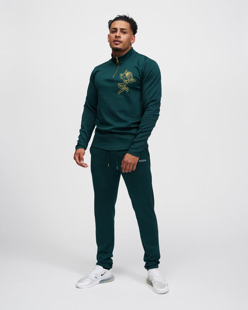 LA ROSA 'ROLEY GREEN' CREWNECK