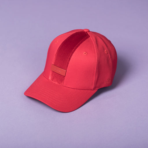 ENZO BALDINI ALL RED BASEBALL CAP