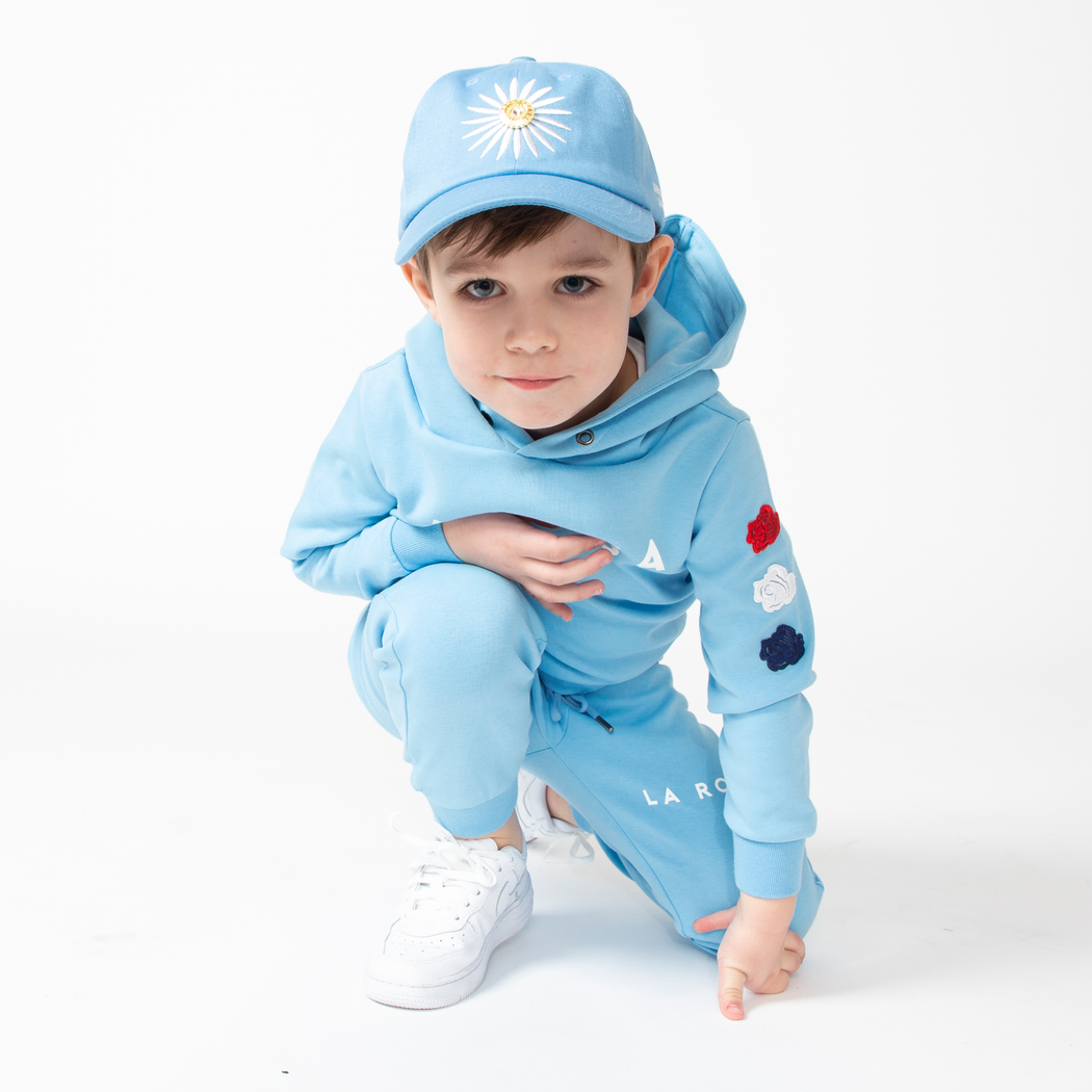 LA ROSA KIDS SUIT BLUE
