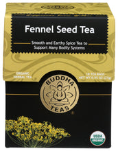 Load image into Gallery viewer, Buddha Tea - Fennel Seed Tea (Box 18)