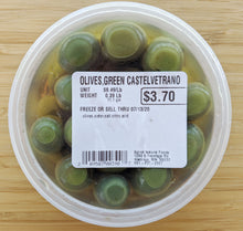 Load image into Gallery viewer, Castelvtrano Green Olives (price per pound)