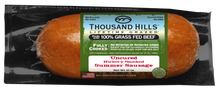 Load image into Gallery viewer, Thousand Hills Uncured Beef Summer Sausage