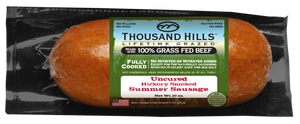 Thousand Hills Uncured Beef Summer Sausage