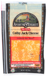 Andrew & Everett - Colby-Jack, Sliced