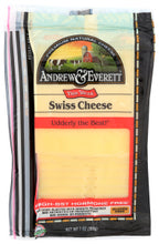 Load image into Gallery viewer, Andrew & Everett - Swiss Cheese, Sliced 7oz.