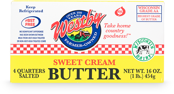 Westby - Sweet Cream Butter 1lb.