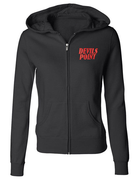 Devils Point Womens Skull Hoodie
