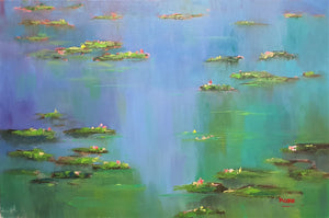 Monet's Reflections 1