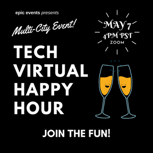 5/7 Tech Virtual Happy Hour (On Zoom)