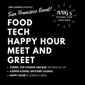Food Tech Happy Hour Meet & Greet