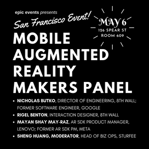Mobile Augmented Reality Makers Panel
