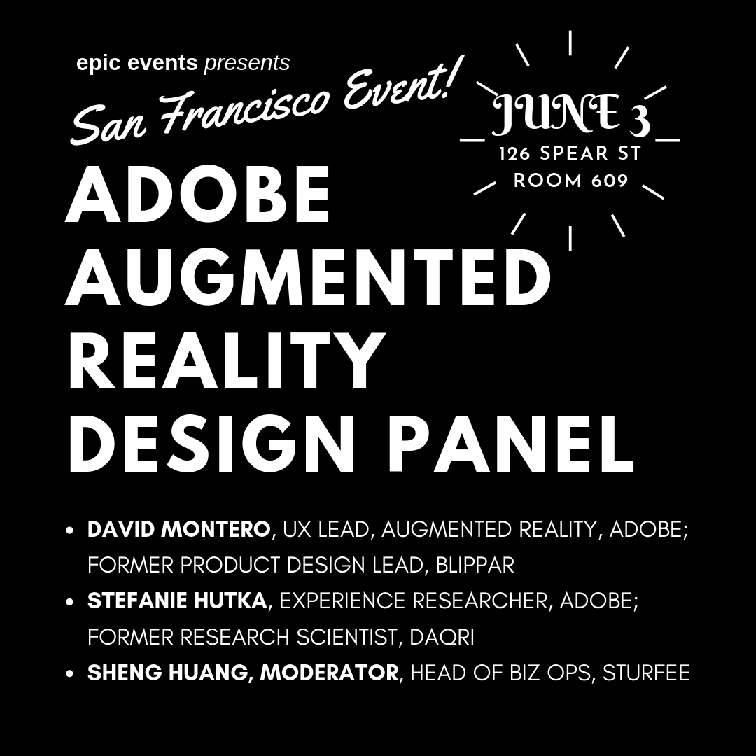 Adobe Augmented Reality Design Panel