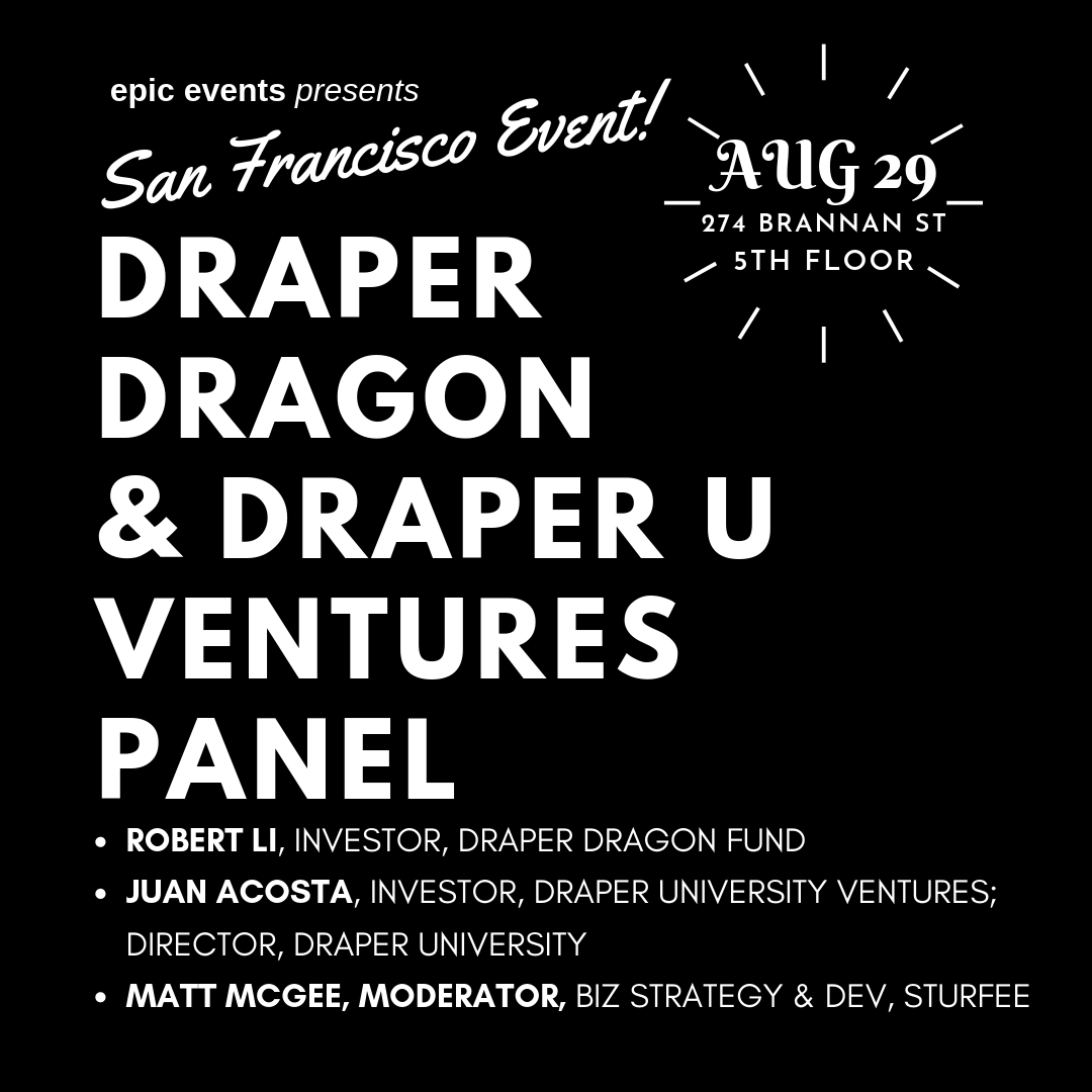 Draper Dragon Fund & Draper University Ventures Investor Panel