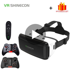 VR Shinecon G06 Casque Helmet 3D Glasses Virtual Reality Lens For iPhone Android Smartphone Smart Phone Goggles Mobile Android