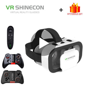 VR Shinecon G05A Helmet 3D Glasses Virtual Reality For iPhone Android Smartphone Smart Phone Goggles Casque Len Gaming Lunette