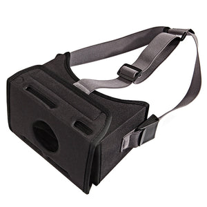 Movie Universal VR Game Stretched Strap Virtual Reality 3D Glasses Durable Head Mounted EVA Easy Wear Home Black For Switch