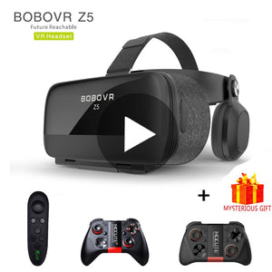 Bobovr Z5 Bobo Casque VR Virtual Reality Glasses 3 D 3d Goggles Headset Helmet For iPhone Android Smartphone Smart Phone Len Ios