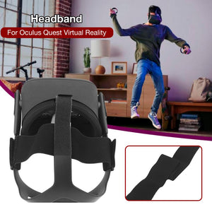 Headband Head Strap Weight Reduction Comfortable Stretch Belt for Oculus Quest Virtual Reality VR Headset