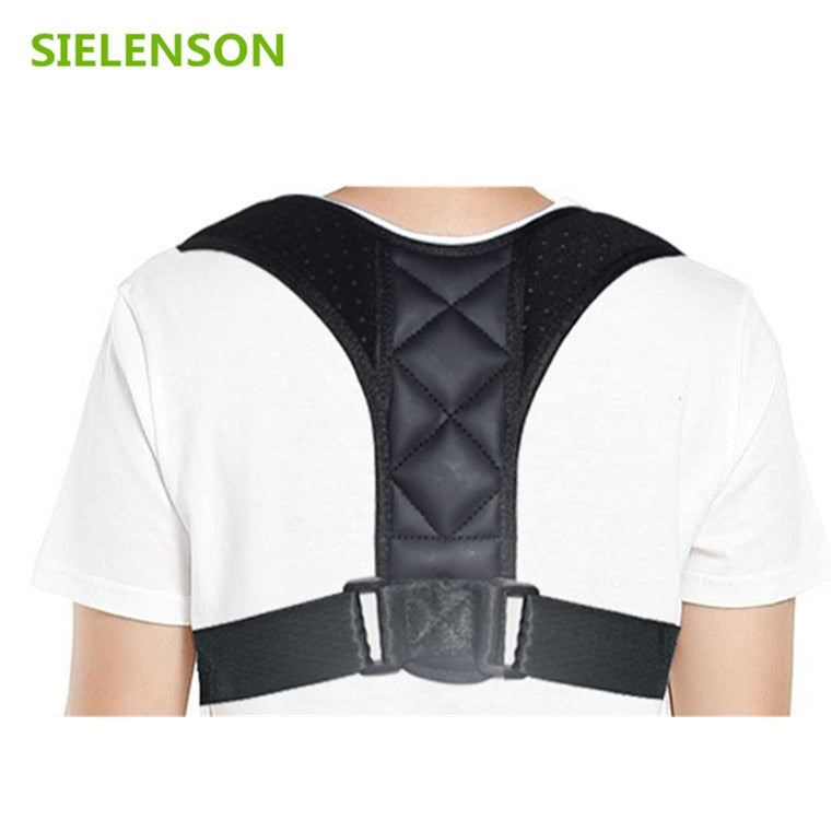 Medical Adjustable Clavicle Posture Corrector Men Woemen Upper Back Brace Shoulder Lumbar Support Belt Corset Posture Correction