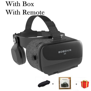 Bobovr Z5 Bobo VR Virtual Reality Glasses 3D Headset Helmet Goggles Casque 3 D For iPhone Android Smart Phone Smartphone Lunette