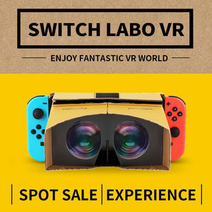 For 3D Glasses for  VR Box Movies Game Virtual Reality Glasses for SWITCH VR glasses For Zelda for Odyssey games