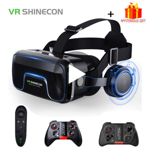 VR Shinecon 10.0 Casque Helmet 3D Glasses Virtual Reality Headset For iPhone Android Smartphone Smart Phone Goggles Lunette Ios