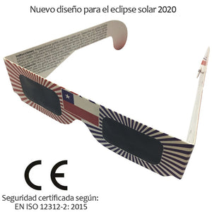 100pcs/lot Safe 3D Paper Solar Glasses,Eclipse Viewing Glasses Newest Design For 2020