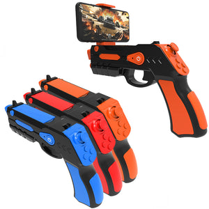 BT 4.0 FPS APP AR Phone Game Gun Joystick Controller 4.3-6 Inch Phone Clamp Stand Holder Augmented Reality Shooting Game Toy Gun