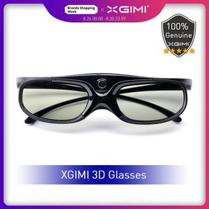 Original XGIMI Shutter 3D Glasses DLP-Link Liquid Crystal Rechargeable Virtual Reality LCD Glass for XGIMI H1/ H2/ Z6/ CC Aurora