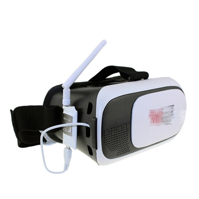 Virtual Reality Goggles Cardboard headset 3D Glass box vr+ Mini 5.8G FPV Receiver UVC Video Downlink OTG VR Android Phone