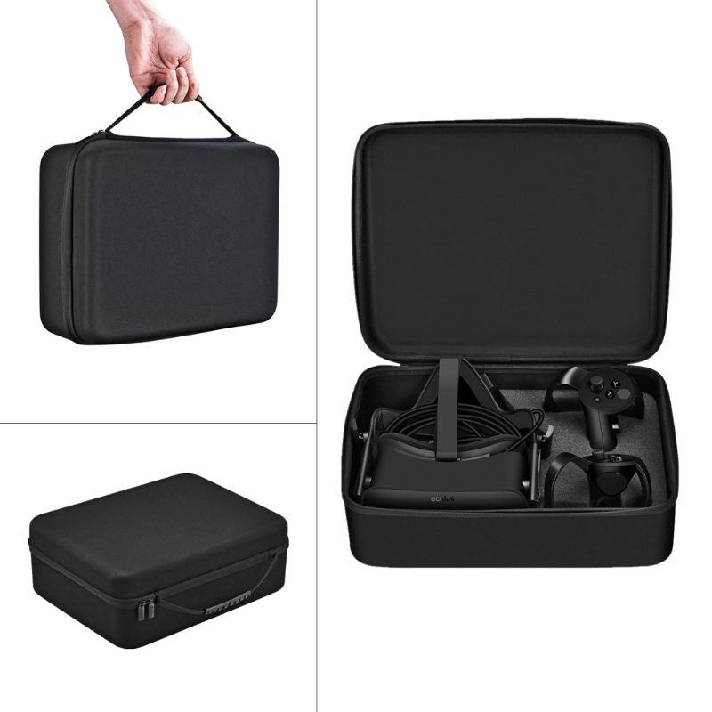 Portable Hard Carrying Pouch Cover Case Bag For Oculus Rift CV1 virtual reality VR glasses and accessory