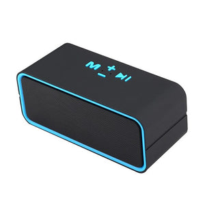 2019New Bluetooth Speaker AI Voice Activation Artificial Intelligence Mini Portable Waterproof Stereo Audio Device Android Cable