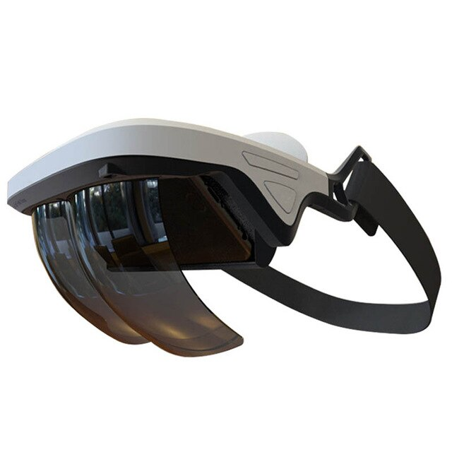 VERFANS Augmented Reality Glasses AR Box Holographic Effects Smart Helmet 3D Virtual Reality with Control Handle