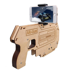 AR Attack Assembled Augmented Reality AR Toy Gun Bluetooth AR-Gun for 3D VR Games Game Pad Suit for IPhone 5S/6S/7  Tattoo ink