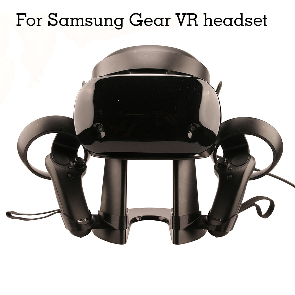 Virtual Reality 3D Glass Headset Display Station Holder for Oculus Rift /Samsung Gear VR /HTC VIVE / Pro Controllers Bracket