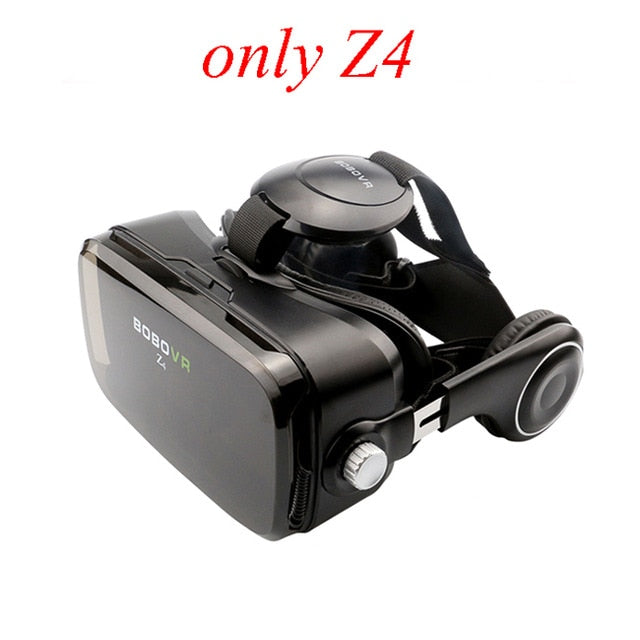Original BOBOVR Z4 3D  Virtual Reality VR Glasses Headset Stereo Box BOBO VR for Smartphone with Remote