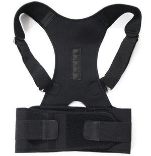 Aptoco Magnetic Therapy Posture Corrector Brace Shoulder Back Support Belt for  Braces & Supports Belt Shoulder Posture US Stock