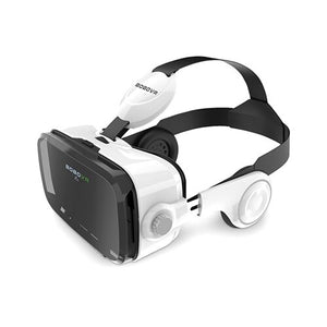 Original BOBOVR Z4 Leather 3D Cardboard Helmet Virtual Reality VR Glasses Headset Stereo Box BOBO VR for Android Smartphone 4-6'