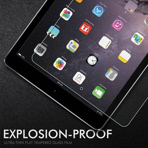 Tempered Glass For Apple iPad 9.7 inch 2018 2017 Pro 10.5 11 Glass For iPad Air 2 Mini 5 2 3 4 Screen Protector Protective Film
