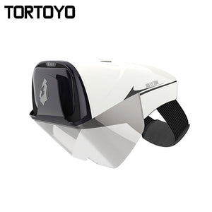 TORTOYO Smart Augmented Reality AR Glasses Virtual Reality 2K FHD Private Cinema Gaming 3D Film Helmet for 4.0-5.7 inch Phone